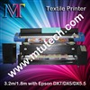 Digital Textile Printer,with DX5/DX7 Head (1.8 &3.2meter,1440dpi) for roll to roll fabric printing