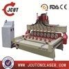 woodworking easy operation system wood cnc router for door cabinet cutting and engraving JCUT-2415-8R