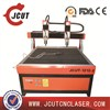double head t-slot table 3d cnc wood machine 1212 cnc wood router for sale JCUT-1212-2