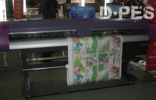 Inkjet printer (3.2m * 2 PCS Epson DX5 2880DPI), solvent printer