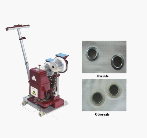 Automatic grommet/eyelet machine/punching machine/eyelet machine