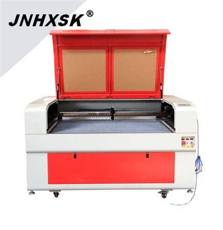 JNHXSK TS1390 130w 110V/220V F4 Ruida 6442s laser engraving cutting machine with honeycomb working table